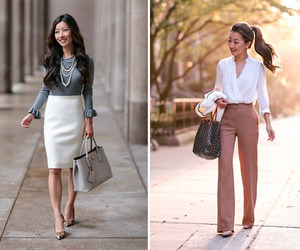 chic, fashion, and looks image