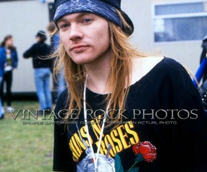axl rose, Guns N Roses, and young image