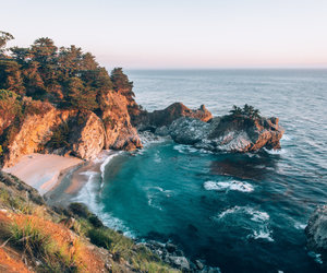 sea, nature, and rocks image