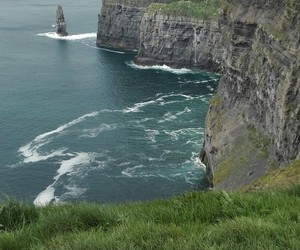 cliffs, cliffs of moher, and europe image