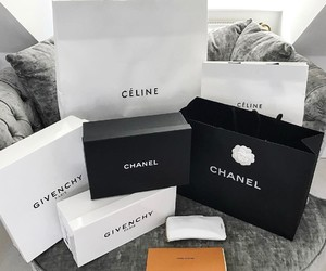 bags, celine, and chanel image