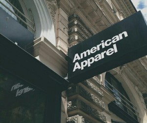 american apparel, black, and grunge image