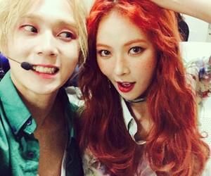 hyuna, kpop, and triple h image
