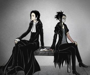 anime, gin, and akutagawa image