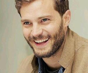 Jamie Dornan and smile image