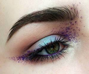 art, makeup, and eyeshadow image