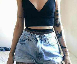 cool, tatoo, and jeans image