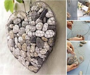 diy, heart, and stone image