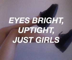 girl, the 1975, and Lyrics image