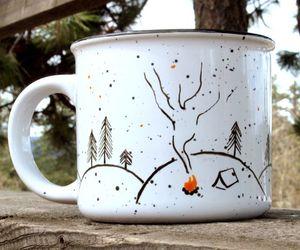 etsy, graduation gift, and campfire mug image