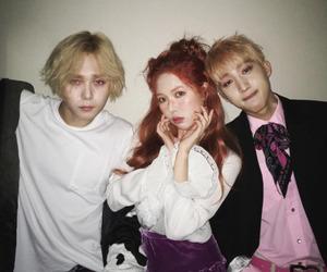 hyuna, hui, and triple h image