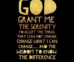 god, gold, and prayer image