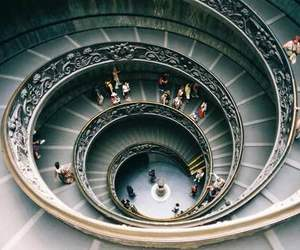 people, stairs, and architecture image