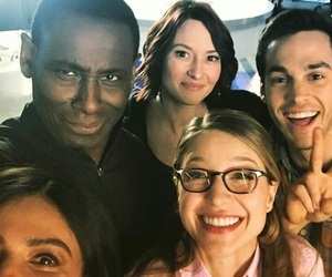 Supergirl, melissa benoist, and chris wood image