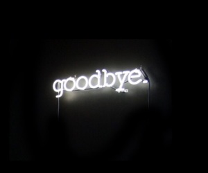 goodbye, black, and quotes image