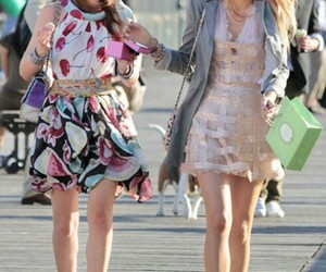 blair waldorf, blake lively, and best friends image