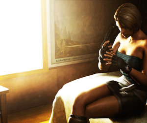 resident evil and jill valentine image