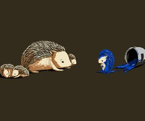 sonic, blue, and hedgehog image