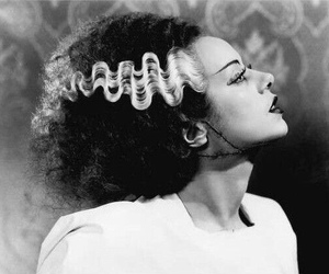 black and white, Bride of Frankenstein, and The Bride of Frankenstein image