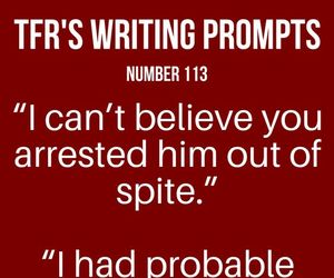 hi and writing prompt image