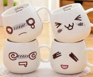 kawaii, cute, and mug image