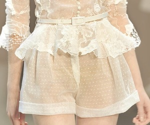 fashion, lace, and model image