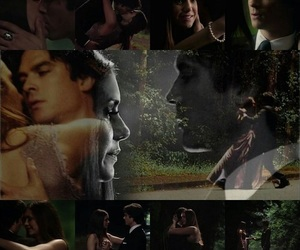 the vampire diaries, elena gilbert, and delena image