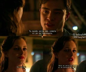 blair waldorf, chuck bass, and frases image