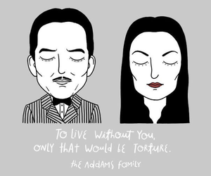 the addams family, love, and quotes image
