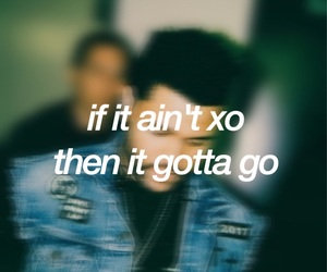 Lyrics, xo, and the weeknd image