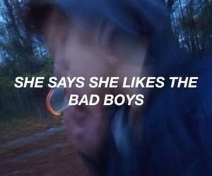 bad boy, bad girl, and fuck girl image