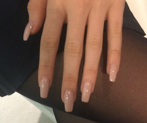 inspo, Nude, and nail inspo image