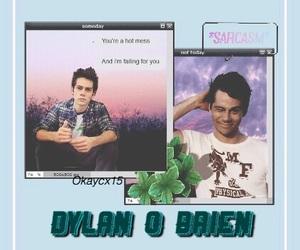 tumblr, wallpaper, and dylan o brien image