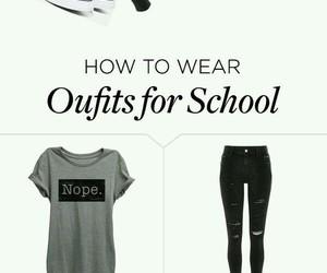 converse, grey shirt, and black beanie image