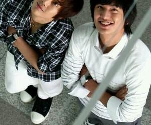 kim hyun joong and lee min ho image