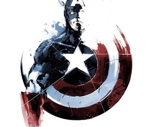 captain america, Marvel, and Avengers image