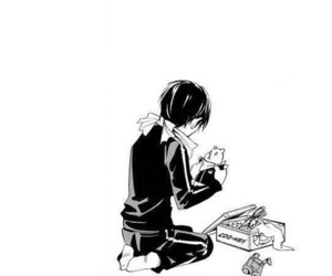 manga, yato, and noragami image