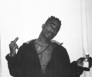 2pac, tupac, and tupac shakur image