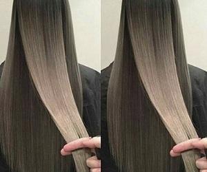 hair, beauty, and long hair image
