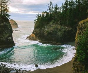 holidays, ocean, and oregon coast image