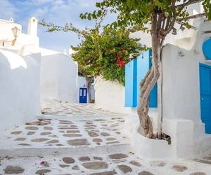 Greece, traveling, and holidays image