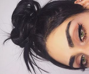 beauty, sexy, and eye lash image