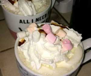 caramel, cofee, and cream image
