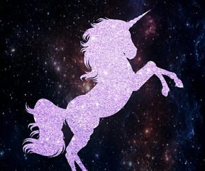 unicorn, wallpaper, and gold image