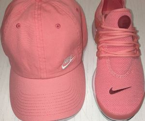 nike, hat, and sneakers image
