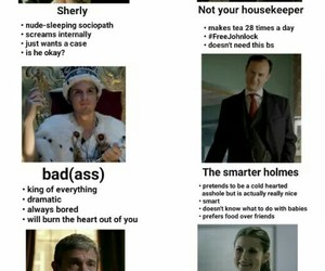 meme and sherlock image