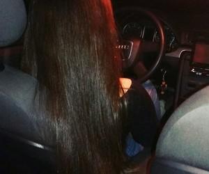 audi, car, and hair image