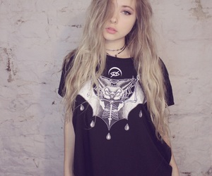 art, blonde, and grunge image