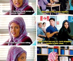 degrassi, feminism, and islam image