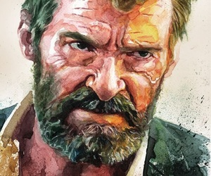 logan, Marvel, and wolverine image